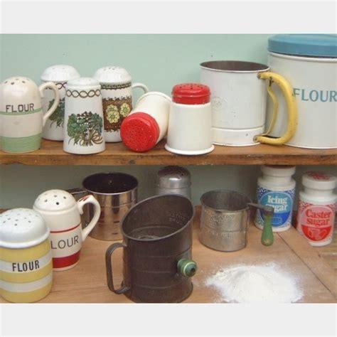 Flour & sugar dredgers & sifters   The Vintage Kitchen Store
