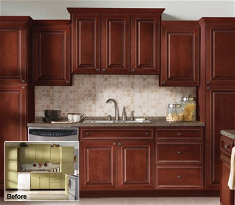 Reface Kitchen Cabinet Refacing Kitchen Cabinets Before And After