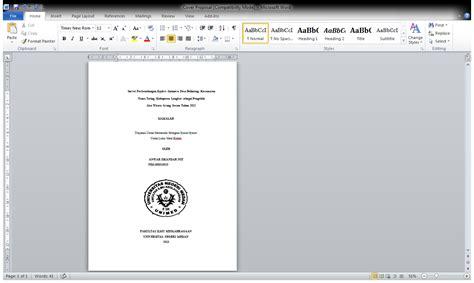 format layout makalah catatan pendaki contoh format penulisan makalah