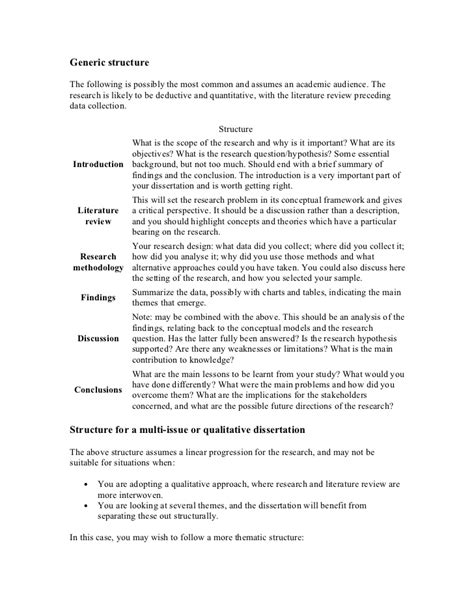 literature review dissertation structure writing a dissertation