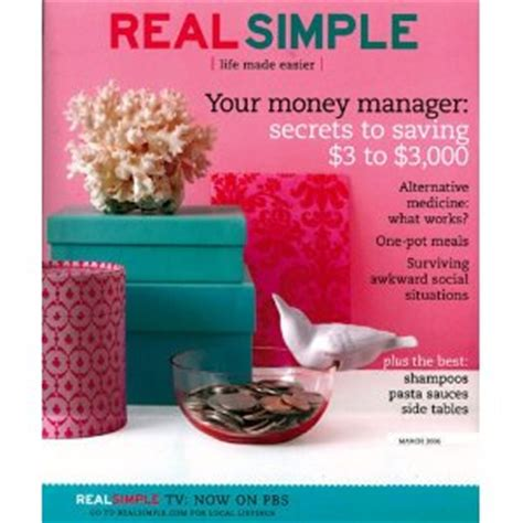 real simple magazine amazon com real simple magazine for 10 per year 0 83