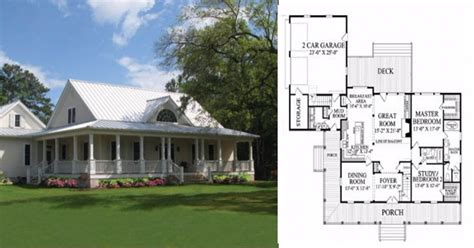 Farmhouse Plans With Photos | check out these 6 farmhouse home plans