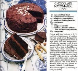 dying for chocolate chocolate mayonnaise cake 2 easy recipes