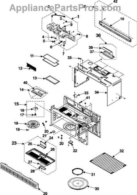 samsung microwave parts diagram part diagram