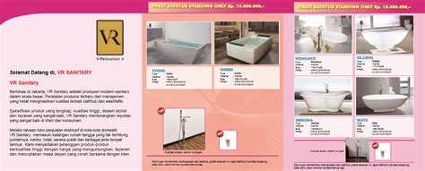Harga Katalog Wasser Sanitary by Vr Sanitary Jual Bathub Washtafel Closet Dengan Harga Murah