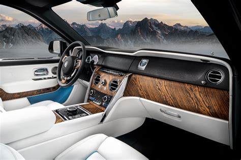 rolls royce cullinan interior new rolls royce cullinan suv goodwood s for the