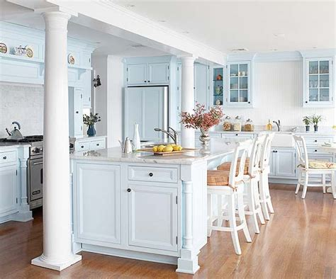 blue and white kitchen ideas blue kitchen design ideas