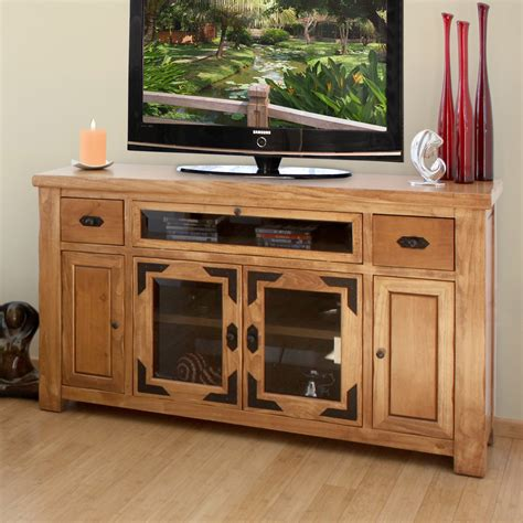 artisan home furniture lodge 62 in tv console tv stands