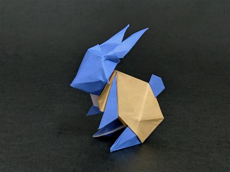 To The Moon Rabbit Origami - origami moon rabbit food ideas