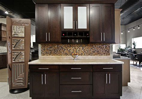 kitchen shaker espresso kitchen cabinets home depot