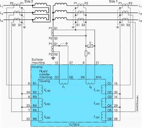 transformer differential protection ansi code 87t