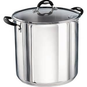stainless steel stock pot tramontina 22 quart stainless steel stock pot kitchen