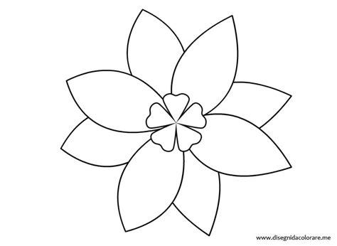 fiore disegno fiori da colorare imagui