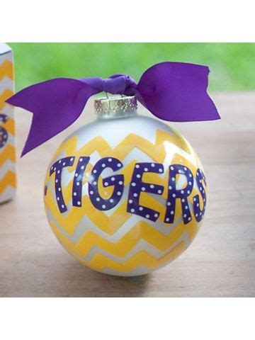 17 best images about lsu on pinterest christmas ornament