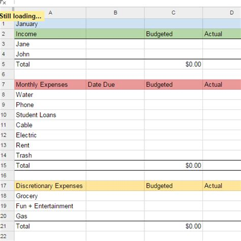 docs budget template excel budget template docs driverlayer search engine