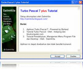 tutorial turbo c bahasa indonesia pdf turbo pascal and tutorial fransesco agnes ranubaya