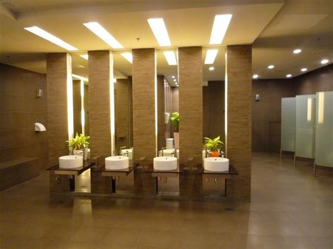How to Make a Modern Public Bathroom Toilet with a