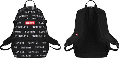supreme backpack all supreme backpacks