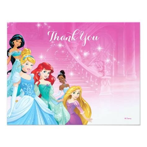 printable princess jasmine thank you cards 443 best images about disney birthday invitations on