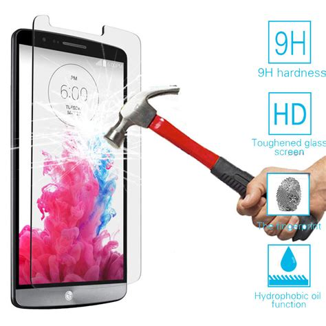 Tempered Glass Lg K10 Quality A617 top quality 0 25mm 9h premium tempered glass for lg g2 g3