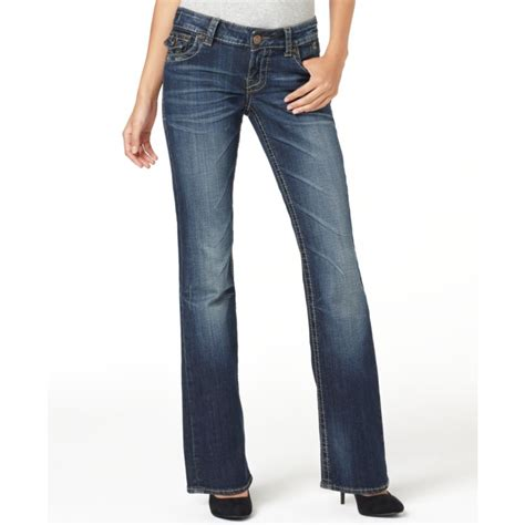 Kulot Jins kut from the kloth bootcut topstitched flap pocket certain wash in blue lyst