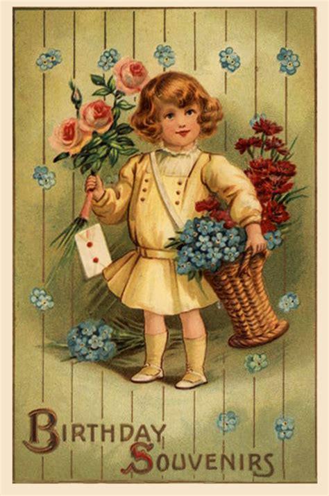 printable birthday cards vintage printable birthday cards free printable greeting cards