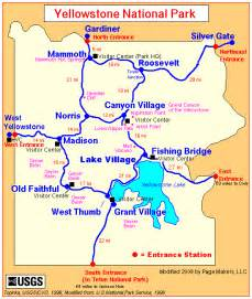 map of america yellowstone national park yellowstone national park lodging guide yellowstone up and personal