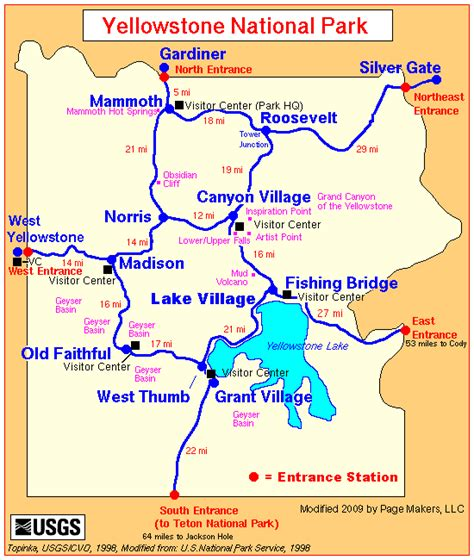 yellowstone lodging map yellowstone national park lodging guide yellowstone up and personal