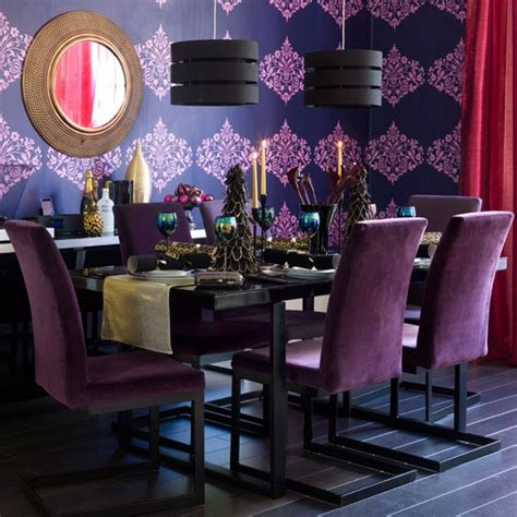 purple and gold room orange black and gold dining room bill house plans