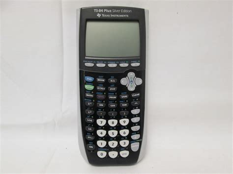 black ti 84 plus graphing calculator texas instruments ti 84 plus silver edition graphing