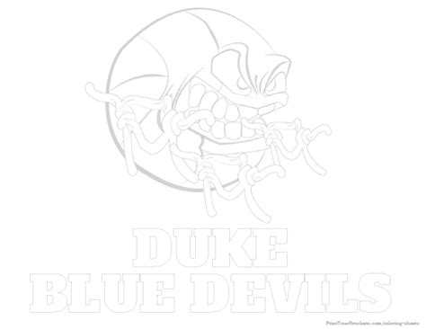 duke basketball coloring pages duke blue devils basketball coloring sheet printable