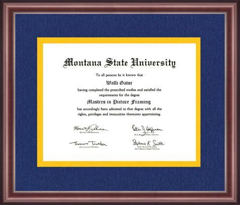 montana state colors montana state diploma frame talking walls