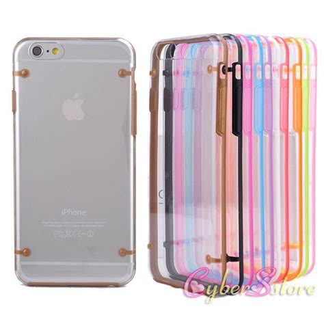 Soft Glittant Iphone 6g Handphone Tablet for iphone 6 4 7 plus 5 5 luminous bumper soft tpu color transparent back cover cell phone