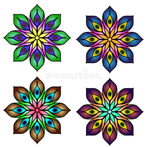 imagenes mandalas arabes mandalas coloreadas de la mandala cuatro fijadas