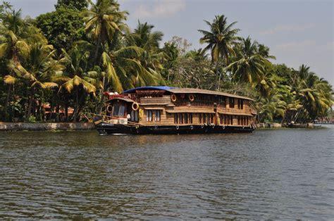 kerala backwaters   blue skies