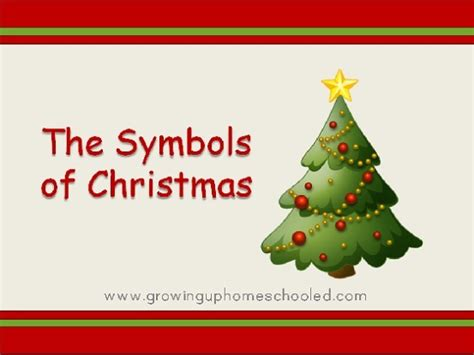 the symbols of christmas why we decorate free powerpoint
