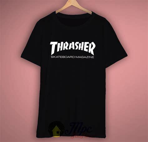 Kaos Tshirt Thrasher Skate Premium thrasher skateboard t shirt mpcteehouse 80s tees