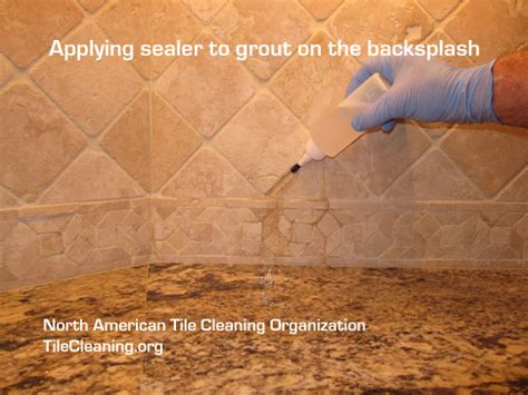 granite grout with permanent sealer
