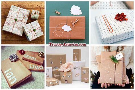 decorar regalos ideas para envolver regalos de forma original diy