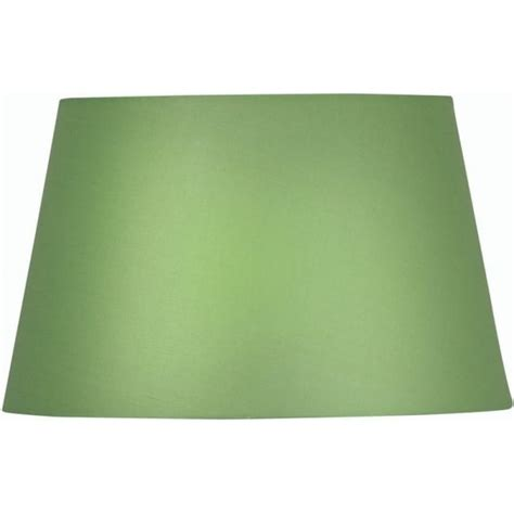 oaks lighting cotton drum green fabric shade leader stores