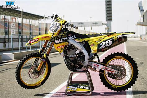 suzuki motocross gear racing caf 232 suzuki rm z 450 c desalle team rockstar