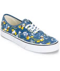 vans disney shoes disney x vans authentic donald duck skate shoes mens at
