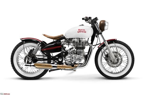 Motorrad Royal Enfield by Royal Enfield Showcases 4 Custom Bikes At Delhi Store