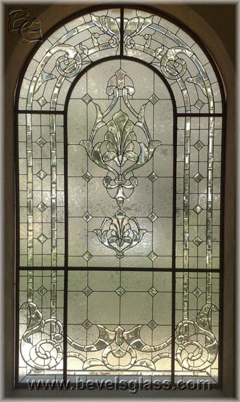 Beveled Glass Door Panels 25 Best Ideas About Beveled Glass On Window Glass Traditional Stained Glass Panels