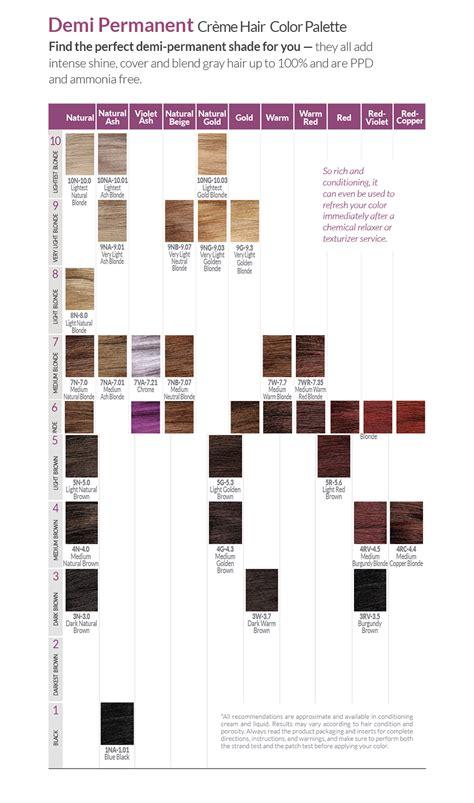 demi permanent hair color chart ion demi permanent hair color chart dark brown hairs of