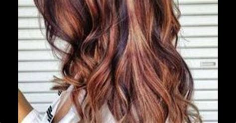 crown highlights dark hair to achieve this look chunky highlights are concentrated