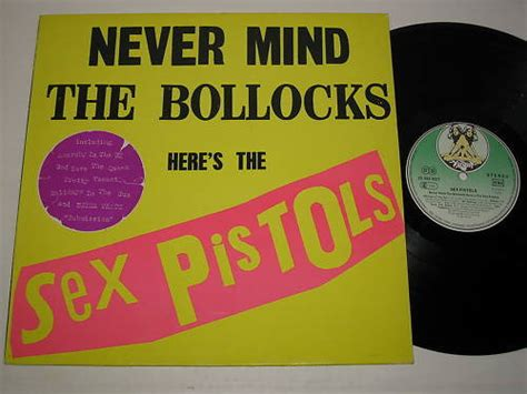 never mind the baking here s the pistols cakehead loves evil god save the pistols never mind the bollocks germany first pressing
