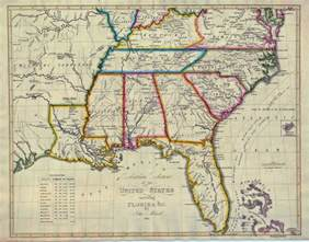 map of south eastern united states south carolina maps