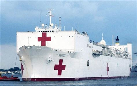 u comfort united states navy hospital ship usns comfort will carry