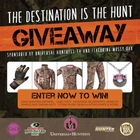 Hunting Giveaway - enter to win girls with guns mossy oak hunting package giveaway